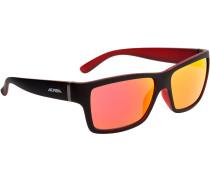 Kacey Sonnenbrille rot / schwarz