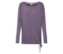 Shirt 'Lamona Dotted Longsleeve' lila