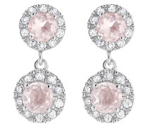 Ohrhänger rosa / silber