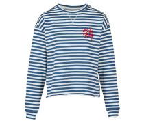 Sweatshirt 'Saylor' blau / rot / weiß