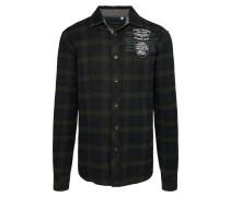 Hemd mischfarben / schwarz