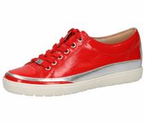 Sneaker silber / hellrot