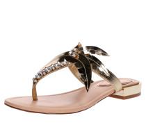 Sandalen 'palma' gold