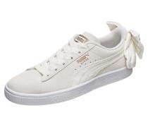 Sneaker 'Suede Bow' beige