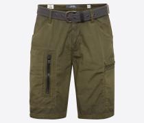 Shorts mit Gürtel khaki