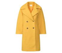 Mantel 'vijessi 7/8 Sleeve Coat' gelb