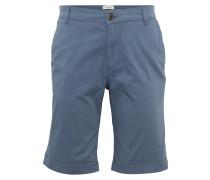 Chino-Shorts taubenblau