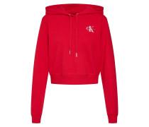 Sweatshirt 'monogram Embroidery Hoodie'