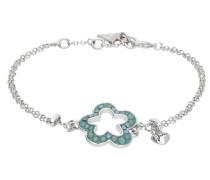 Armband 'ubb11220' pastellblau / silber