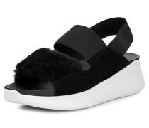 Sandale 'Silverlake' schwarz