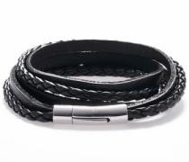 Armband 'Black leather 1279'