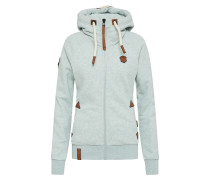 Sweatjacke 'Blonder Engel' mint