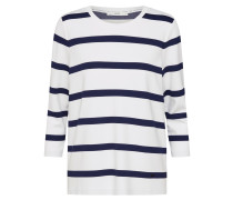 Shirt 'Bobbie' navy / weiß