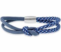 Armband 'travel perspective' blau / silber