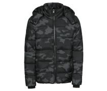 Jacke schwarz / grau / basaltgrau