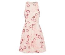 Kleid in Midilänge rosa / merlot