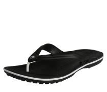 Sandale 'Crocband' schwarz / weiß