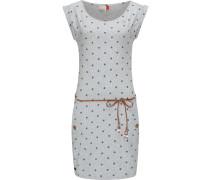Sommerkleid ' Tag Dots ' grau