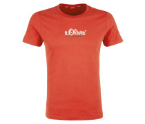 T-Shirt 'authentic' rot