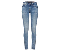 Schmale Jeans 'Celia Slim' dunkelblau