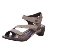 Sandalen braun / hellblau