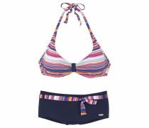 Bügel-Bikini navy / pink