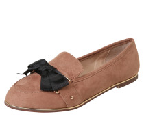 Slipper 'mable' nude / gold / schwarz