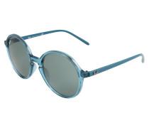 Sonnenbrille blau / transparent