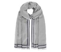 Schal grau / dunkelgrau