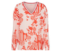 Bluse rosa / rot