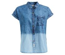 Bluse ' Malinche ' blue denim