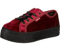 Schuhe ' Tijuana ' blutrot / schwarz