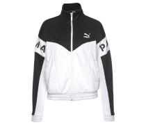 Trainingsjacke 'Xtg 94 Track' schwarz / weiß