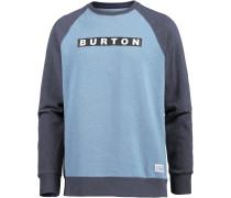 'vault' Sweatshirt hellblau