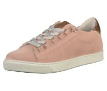 Sneaker gold / rosa