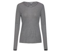 Shirt 'Lilita' creme / schwarz