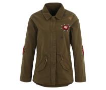 Military-Jacke khaki