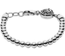 Armband 'rock Biker Dx0930040' silber