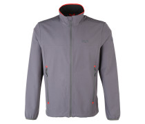 Outdoorjacke 'crestview' rauchgrau