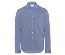 Hemd 'Dave' blau