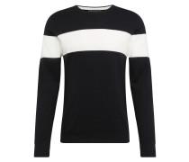Pullover 'clin' schwarz / weiß