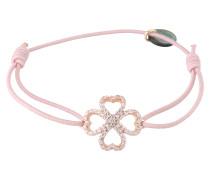 Armband 'Lucky rose' rosa