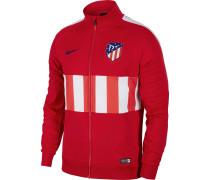 Trainingsjacke 'Atletico Madrid' rot / weiß