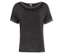 T-Shirt 'luigina' schwarzmeliert