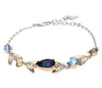 Armband 'Drama' blau / silber