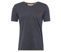 T-Shirt taubenblau