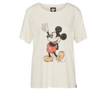 T-Shirt 'mickey' creme