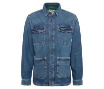Jacke 'cargo Jacket' blue denim