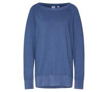 Sweatshirt 'vint' blau