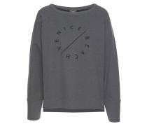 Sweatshirt graphit / dunkelgrau